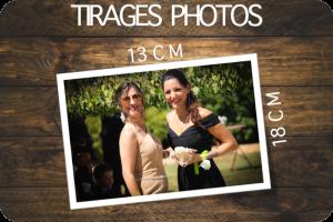 TIRAGES PHOTOS 13X18