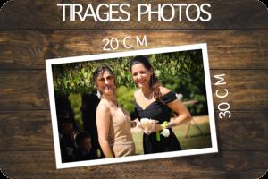 TIRAGES PHOTOS 20X30